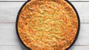 Clafoutis de courgettes au curry au thermomix