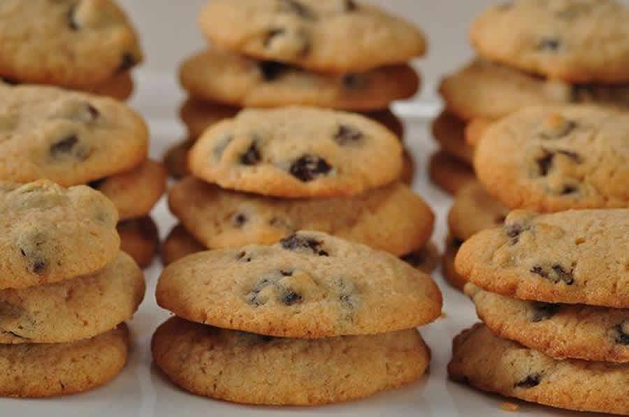 Cookies au rhum et raisins au thermomix