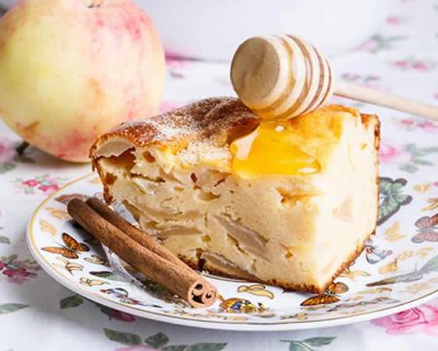 Far breton aux pommes caramélisées au thermomix