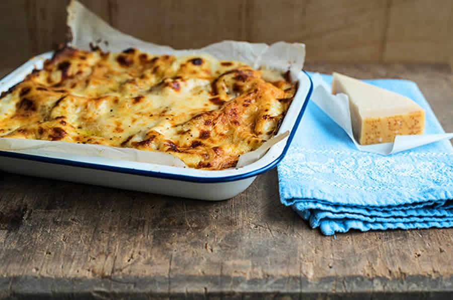 Lasagnes aux courgettes et au jambon au thermomix