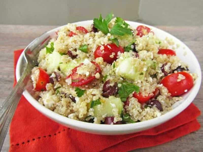 Salade Quinoa Légumes au thermomix