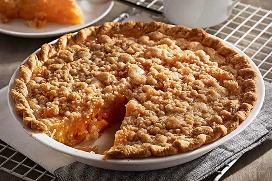 Tarte Crumble aux abricots au thermomix