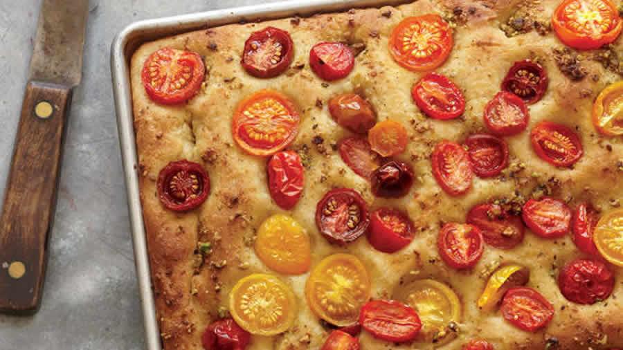Clafoutis aux tomates et légumes au thermomix