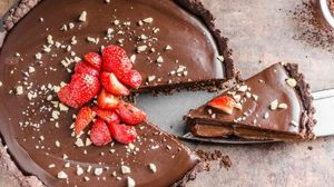 Tarte au chocolat Recette WW Smart Point