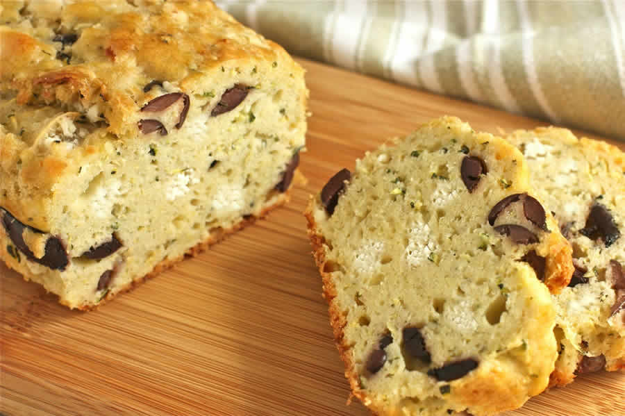 Cake aux olives Thermomix