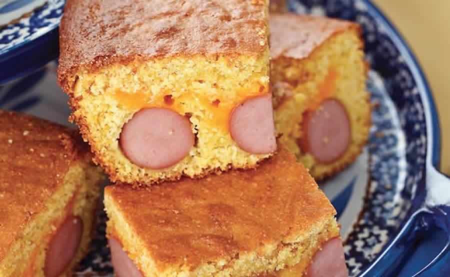 Cake hot-dog au thermomix