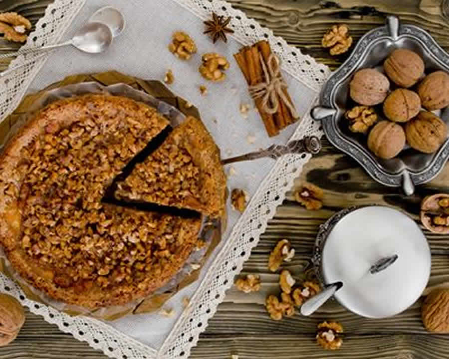 Tarte aux noix au thermomix