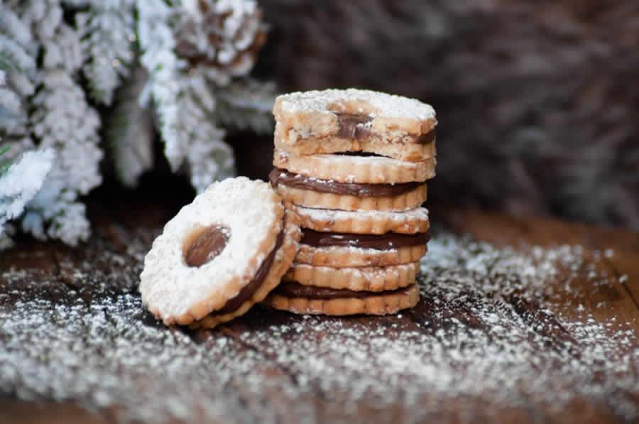 Biscuits de Noël au Nutella au thermomix