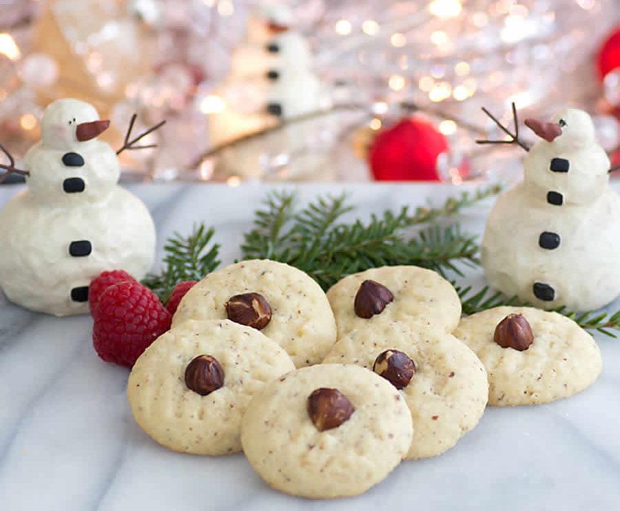 Biscuits de Noël aux noisettes au thermomix