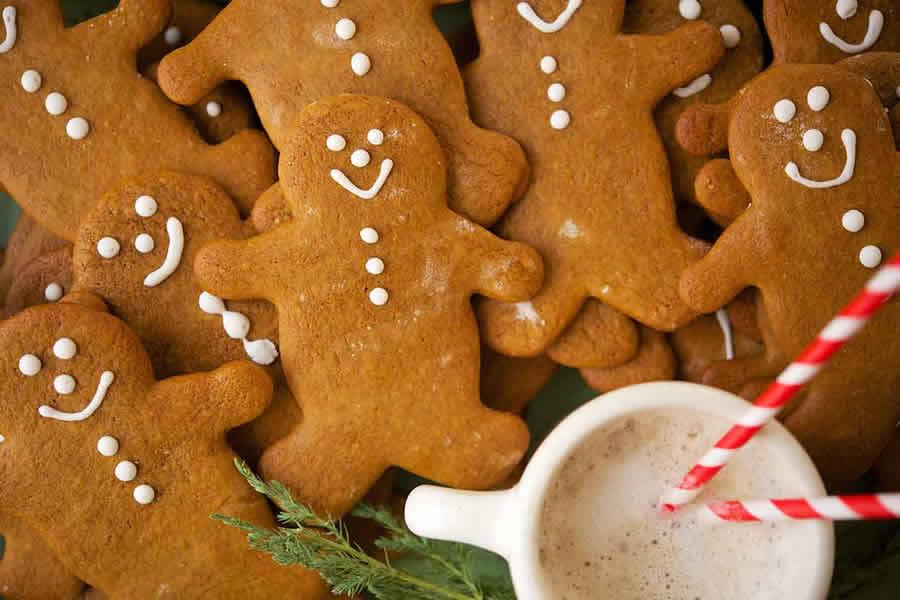 Bonhomme de Noël en pain d'épices au thermomix