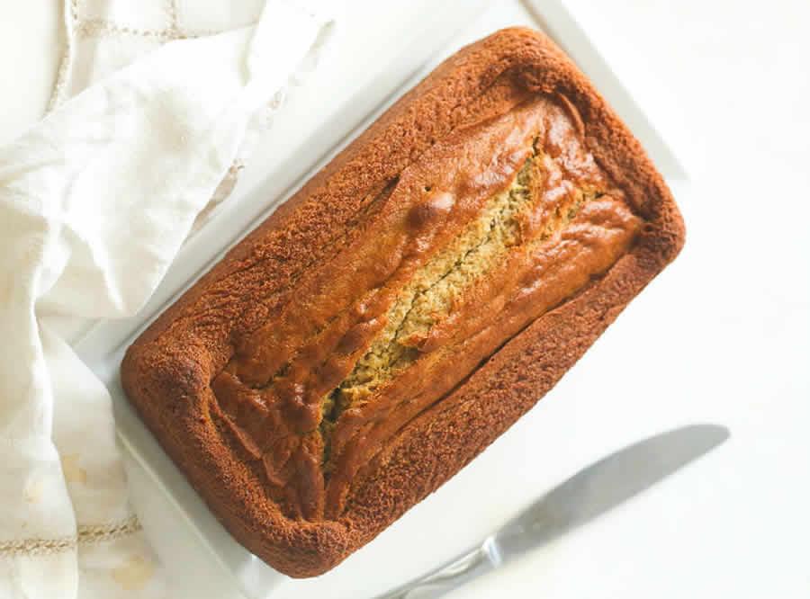 Cake moelleux à la banane au thermomix