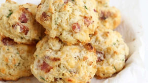 Cookies fromage lardons au thermomix