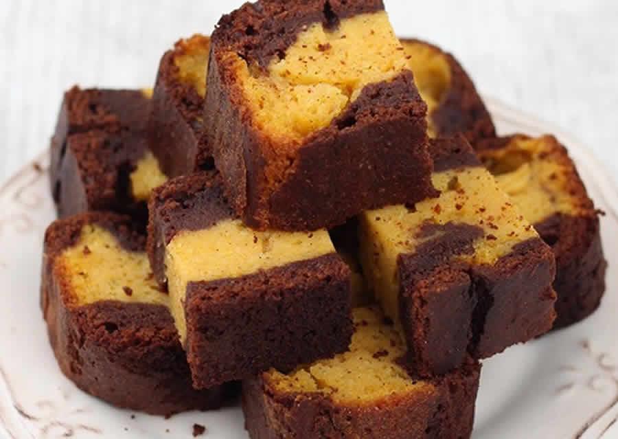 Gâteau au Butternut et Chocolat au thermomix