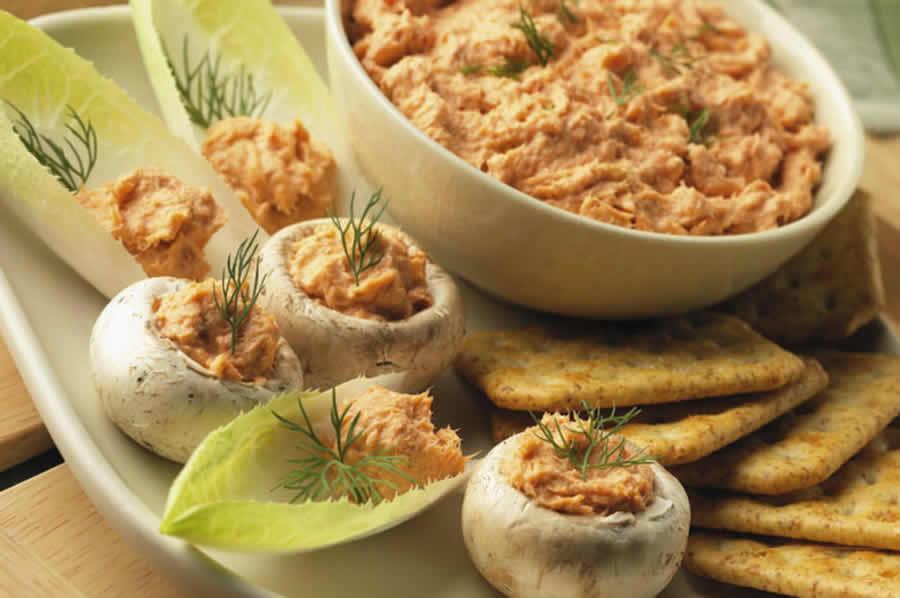 Tartinade de thon et de saumon au thermomix