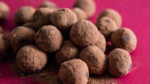 Truffes au chocolat de Noël au Thermomix