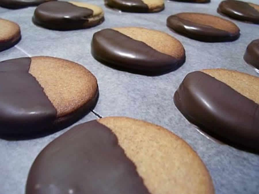 Biscuits sablés vanille et chocolat au thermomix