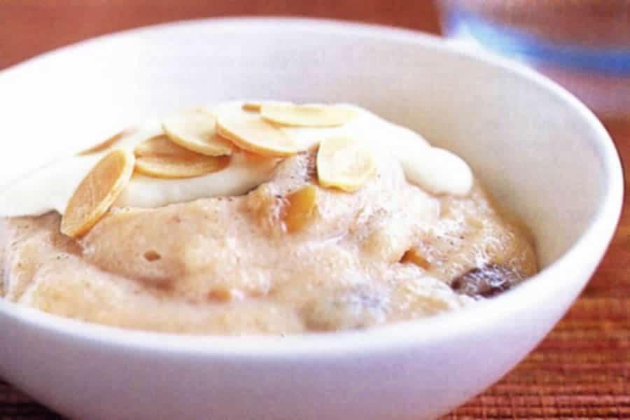 Crèmes dessert de semoule au lait d'amande au thermomix