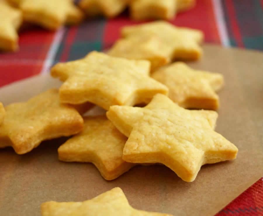 Crackers au fromage de Noël au thermomix