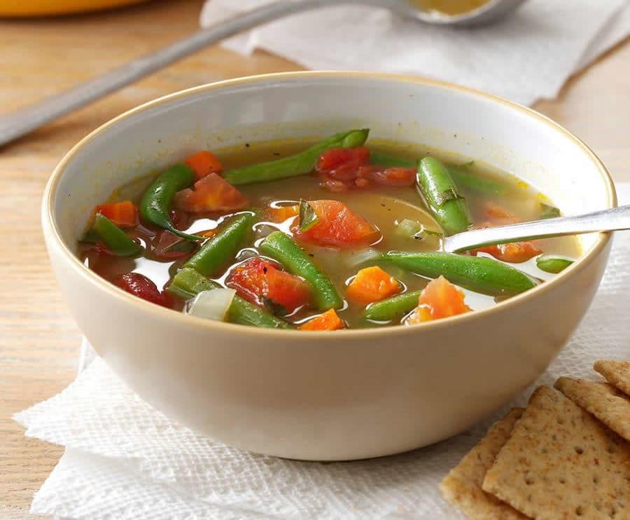 Soupe de haricots verts au thermomix
