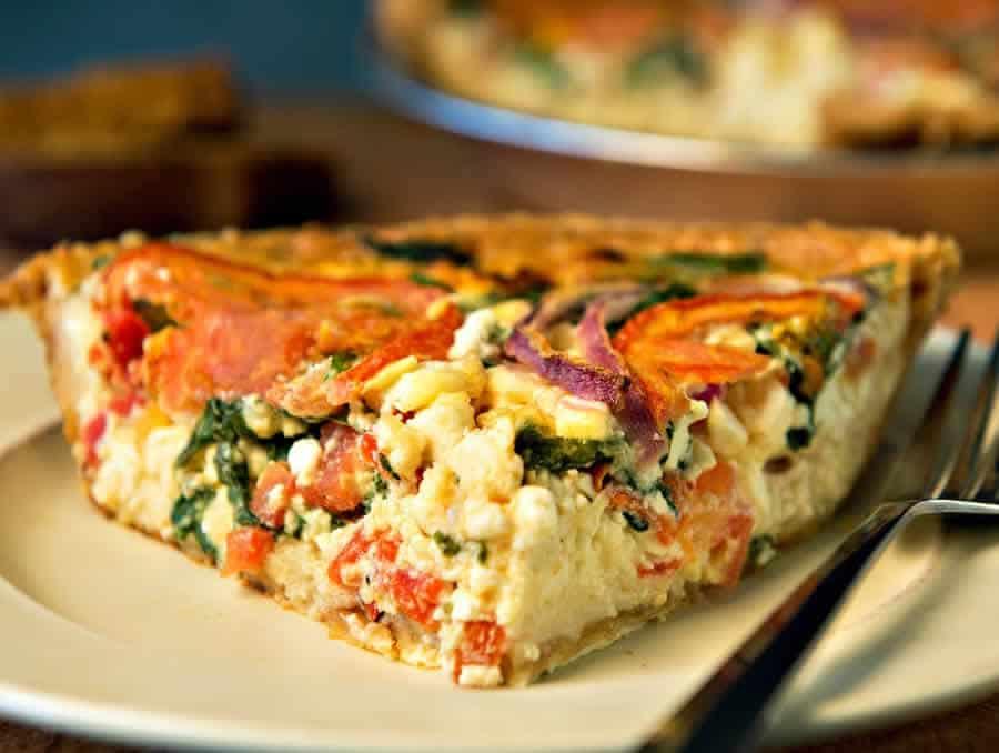 Tarte au jambon carottes et comté au thermomix