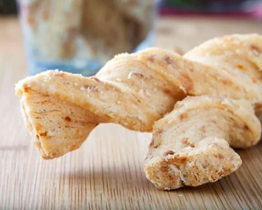 Torsades au jambon et Fromage au thermomix