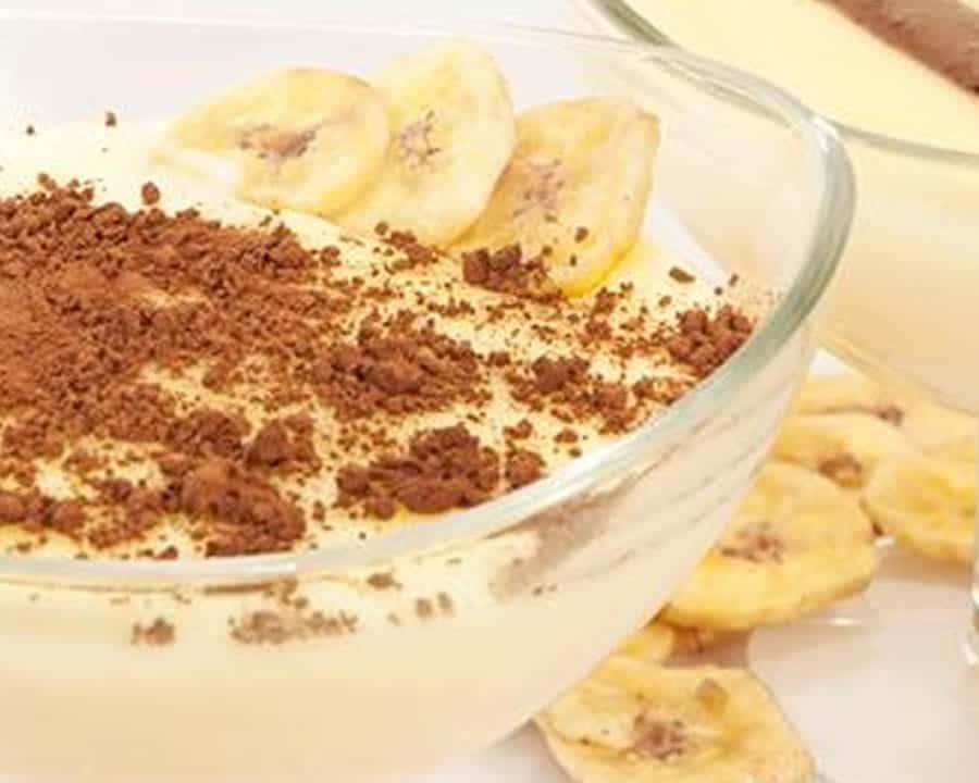 Crème dessert à la banane au thermomix