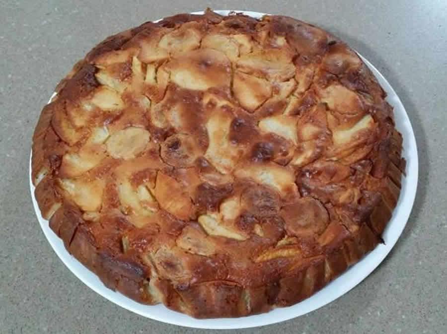 Gâteau aux pommes et à la banane au thermomix