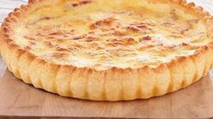 Quiche au fromage et à la moutarde au thermomix
