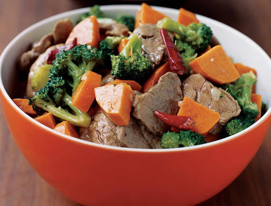 Sauté de porc aux légumes au thermomix
