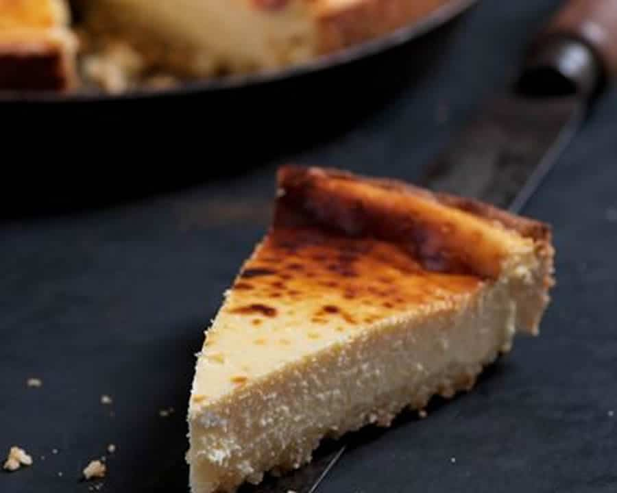 Tarte au fromage blanc au thermomix