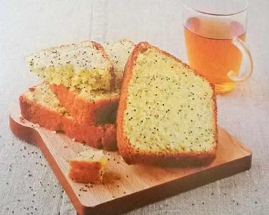 Cake au citron et aux graines de pavot au thermomix