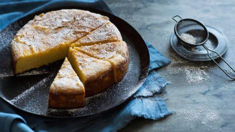 Gâteau léger aux oranges et aux amandes