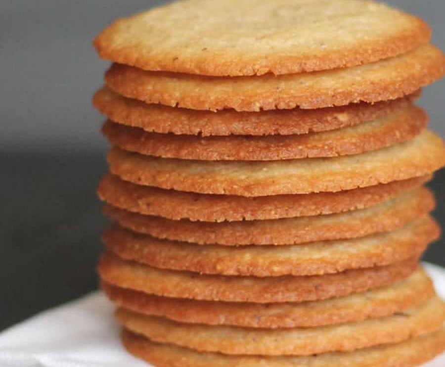 Biscuits aux amandes et orange au thermomix