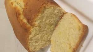Cake citron et noix de coco au thermomix