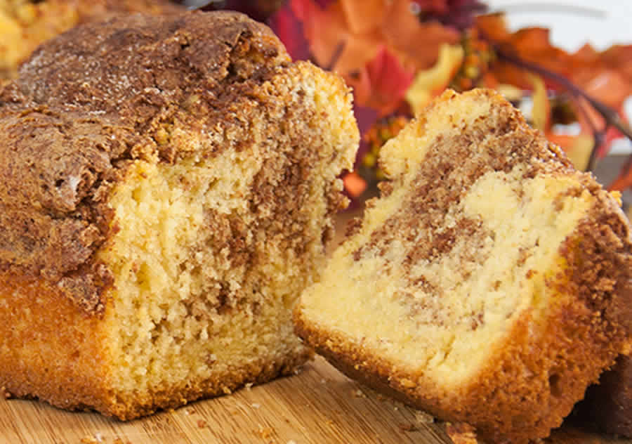 Cake marbré aux pomme et à la cannelle Recette WW