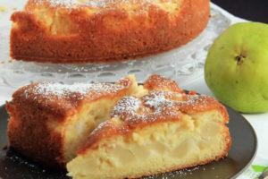 Gâteau fondant aux poires au Thermomix