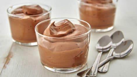 Mousse au chocolat au thermomix Recette WW