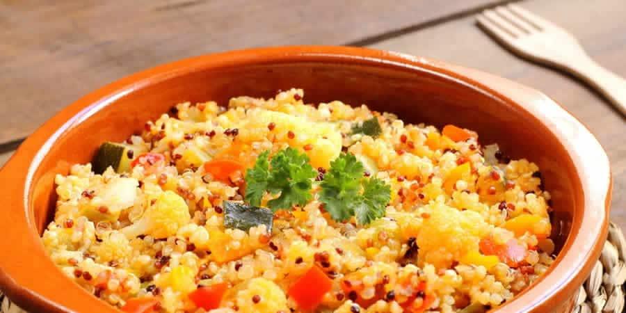 Quinoa aux légumes au thermomix