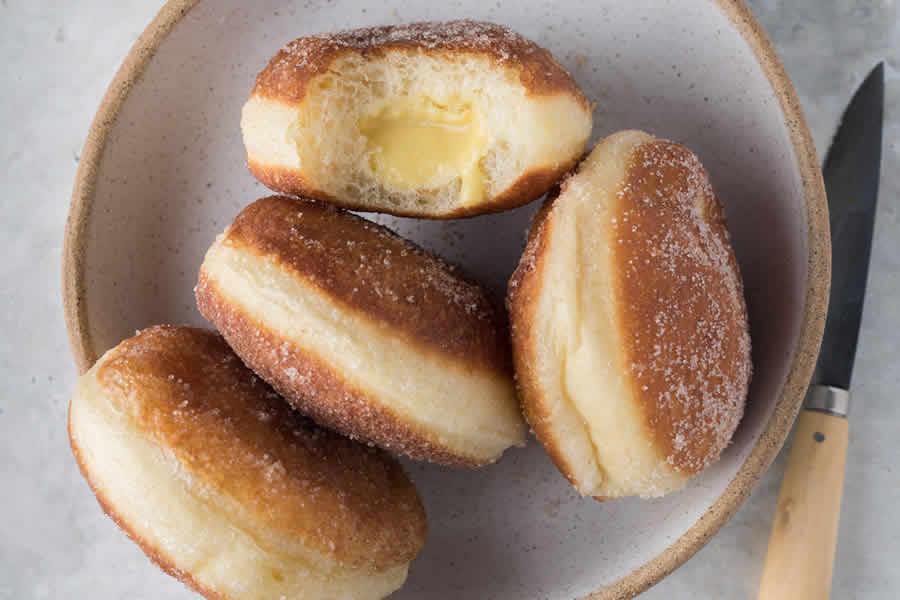 Bomboloni beignets italiens au thermomix