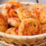 Roulé salé léger au chorizo et aux tomates séchées