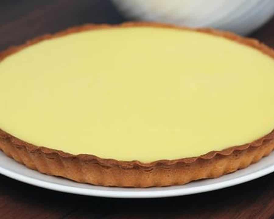Tarte au lait concentré sucré et citron au Thermomix