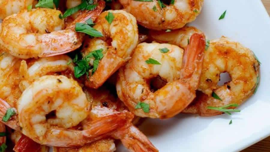 Crevettes aux épices au Thermomix