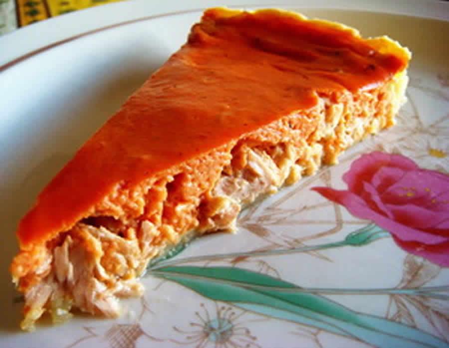 Flan de thon à la tomate au Thermomix