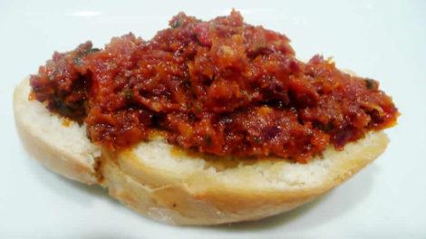 Tapenade à la tomate au Thermomix