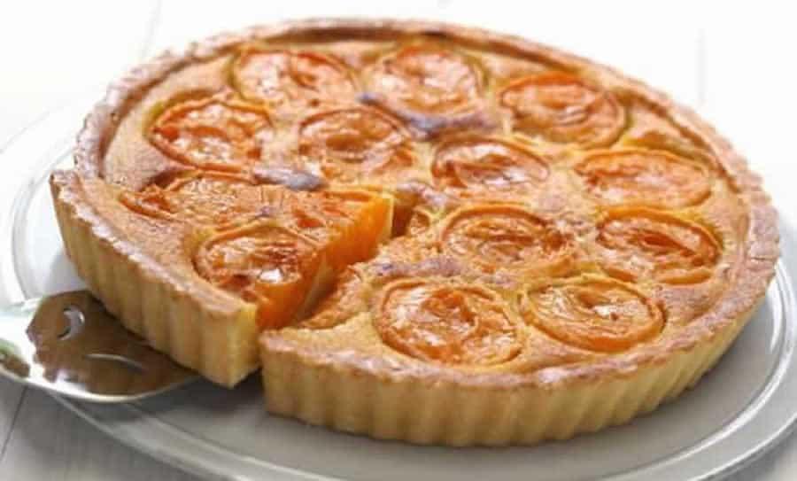 Tarte aux abricots amandine au Thermomix