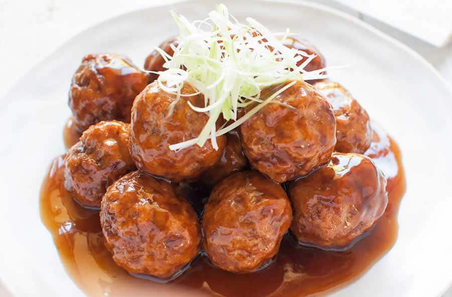 Boulettes de viande à la japonaise au Thermomix
