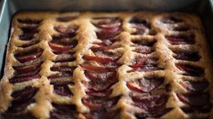 Cake aux prunes au Thermomix