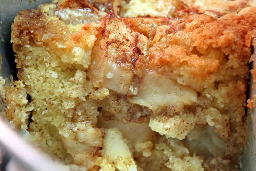 Gâteau moelleux aux pommes au Thermomix