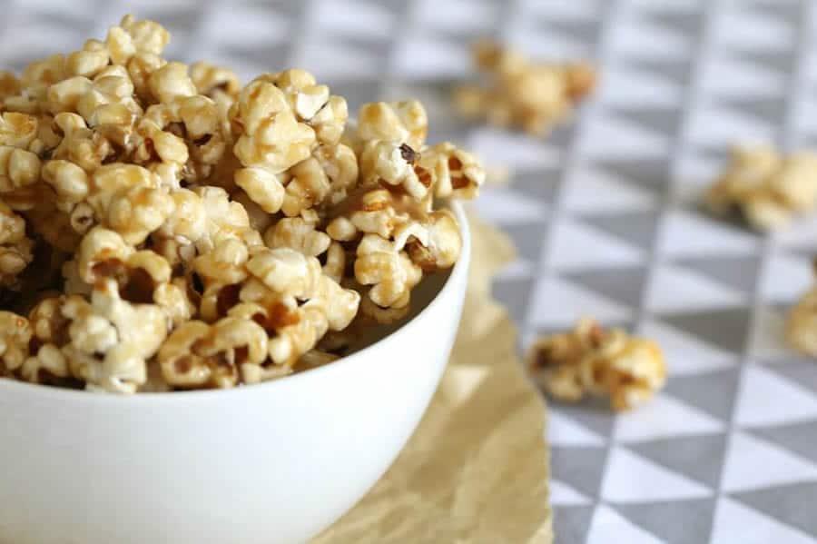 Popcorn au caramel salé au Thermomix
