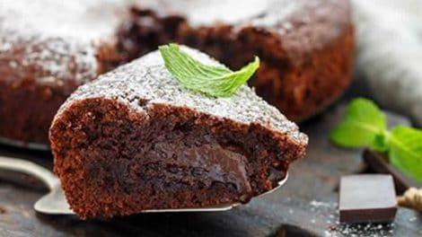 Fondant au chocolat et noisettes au Cookeo